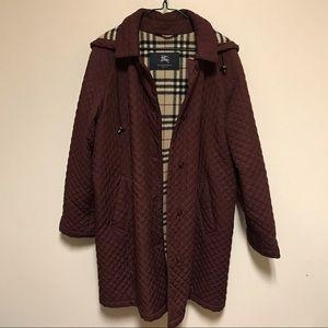 Burberry coat size 10/L